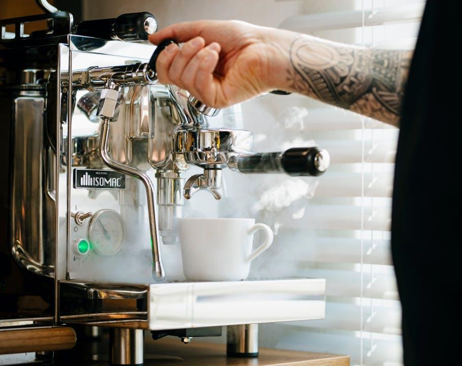 Kaffee auf der Arbeit
