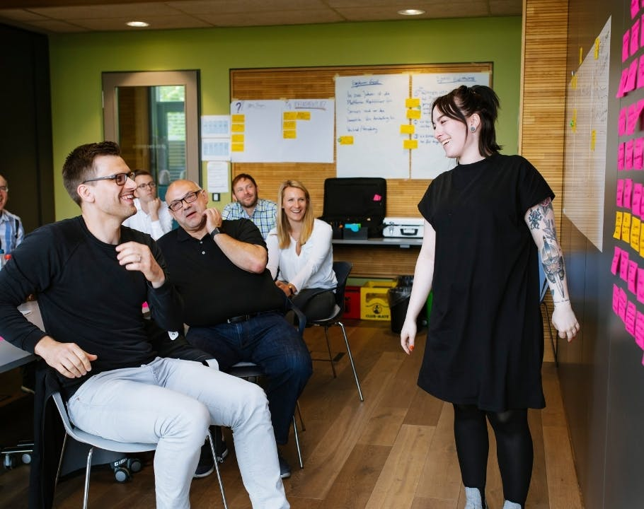 Design Sprint bei codecentric