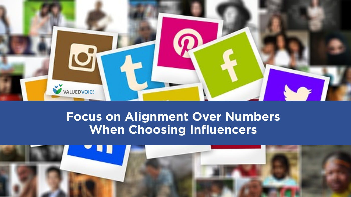 Why You Should Focus on Alignment Over Numbers When Choosing Influencers