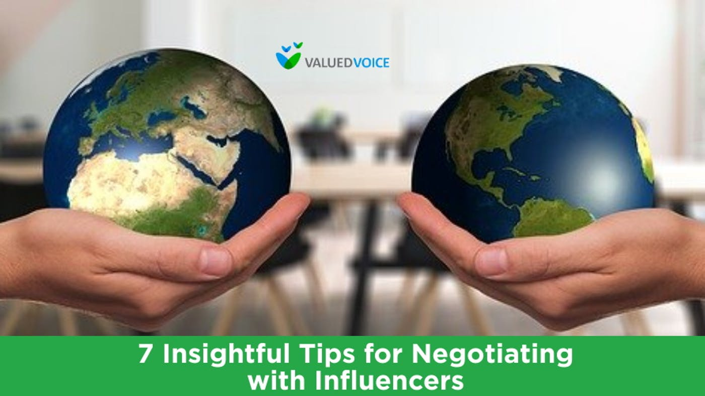 7 Insightful Tips for Negotiating with Influencers