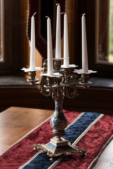antique candelabra