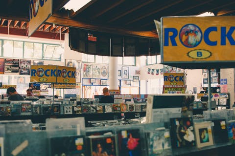 vintage album store