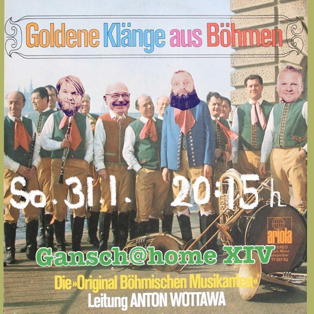 XIV - Böhmische Blasmusik mit Hans Gansch, Alex Wurz und Stefan Huber
