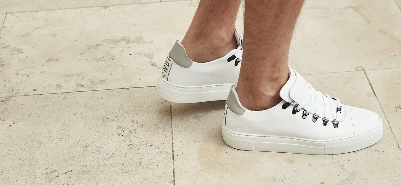 Nubikk herensneakers wit