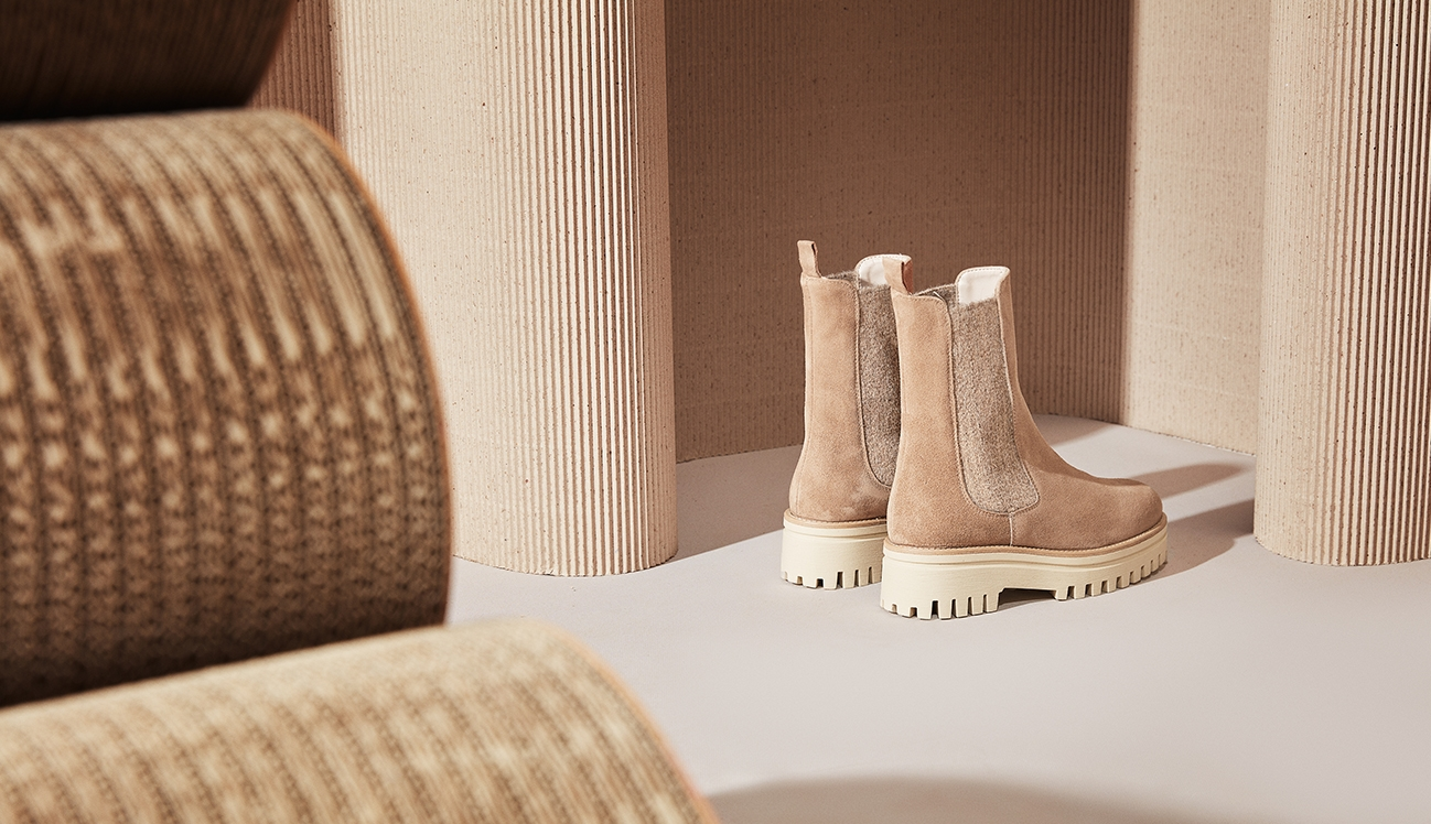 Mace ankle boot taupe