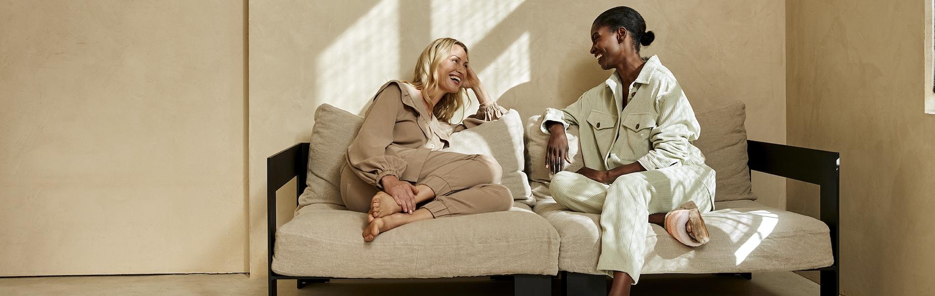 fotoshoot pantoffels lounge