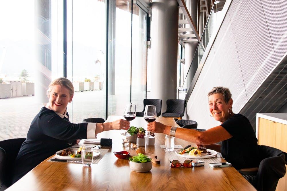 Dinner at LOT185 Cafe + Wine Bar
