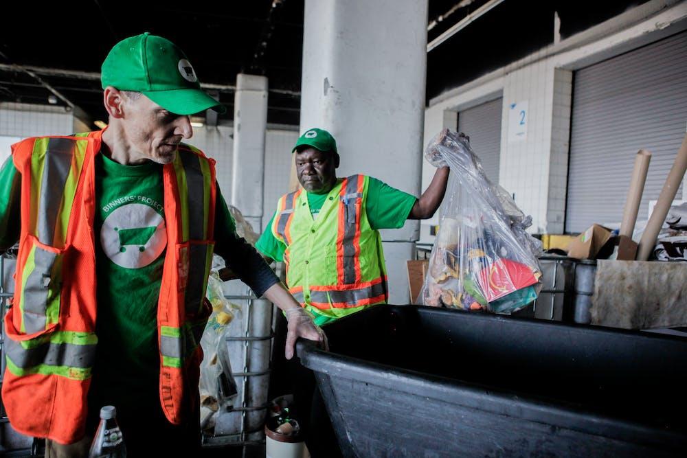 Vancouver Convention Centre's sustainable waste diversion program