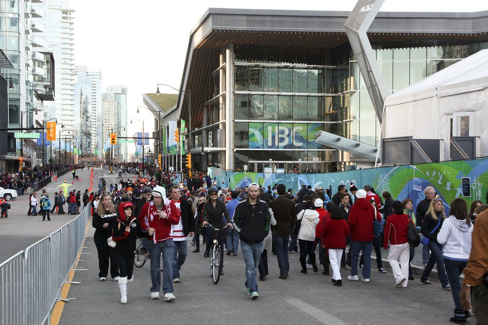 2010 Vancouver Winter Olympics at Vancouver Convention Centre
