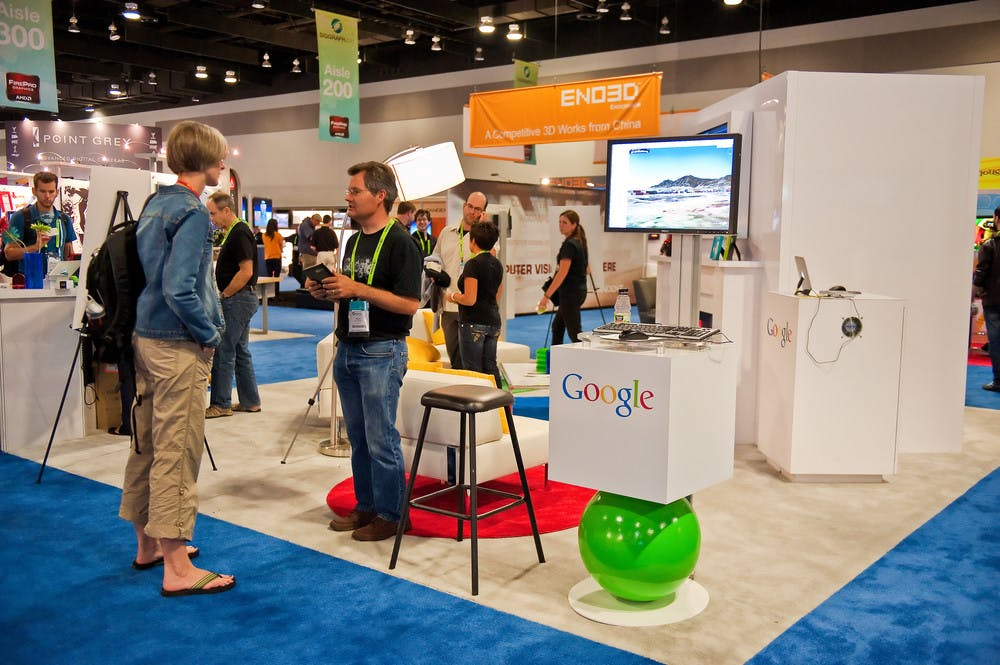 Google at Vancouver Convention Centre