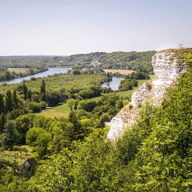 Les falaises du Vexin en Île de France