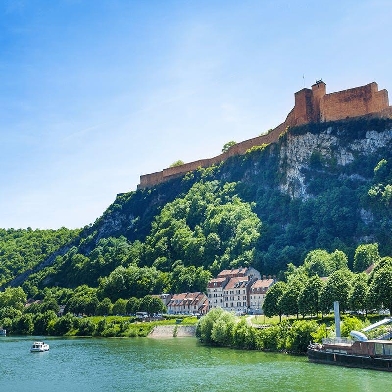 La citadelle de Besançon dans le Doubs