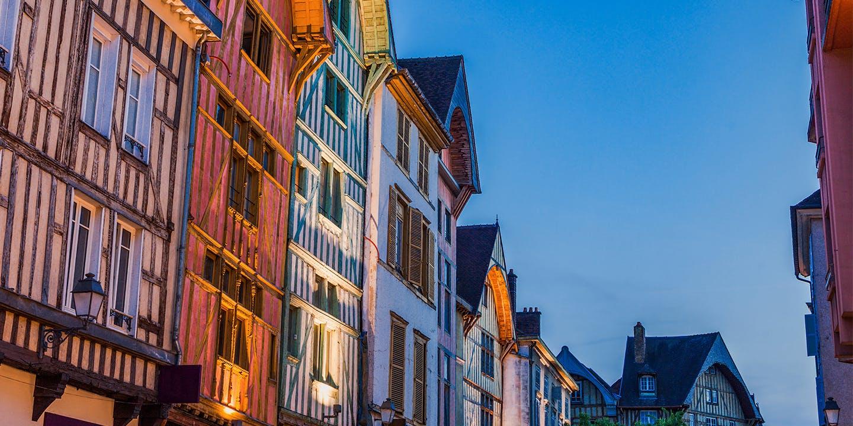 Un aperçu des maisons à colombages de Troyes