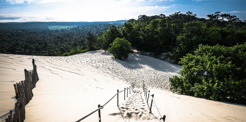 La Dune du Pilat dans la Gironde