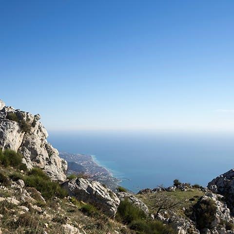 Le Col du Berceau dans les Alpes-Maritimes