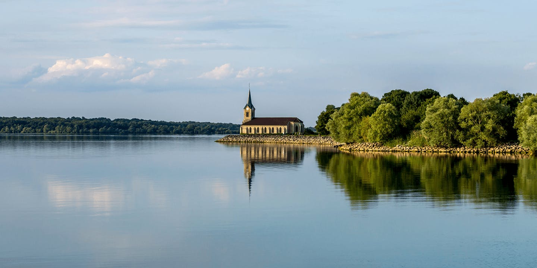 Le Lac de Der-Chantecoq dans la Marne