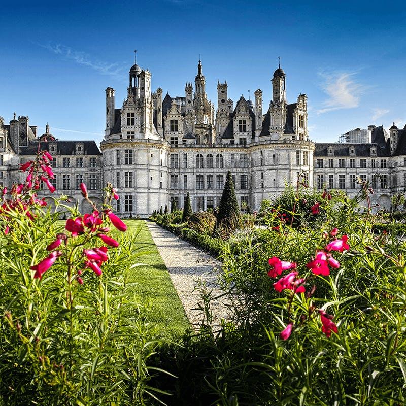 Le Château de Chambord dans le Centre-Val de Loire