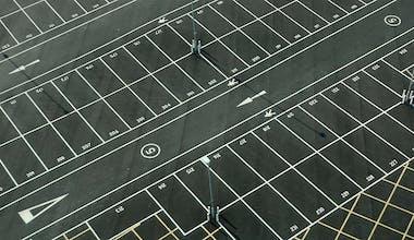 Parkplatz Symbolbild