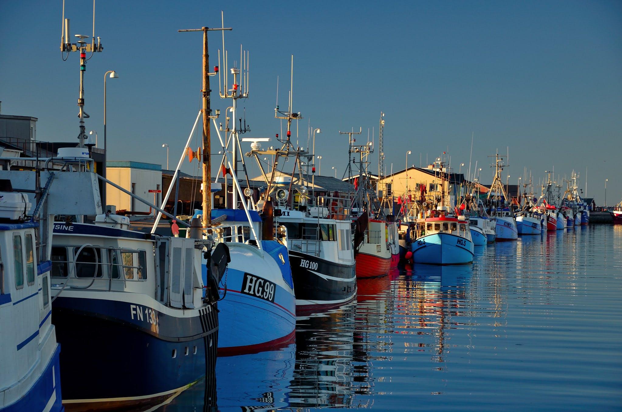 Havnen i Hirtshals. Foto: CCBY Massimo Frasson