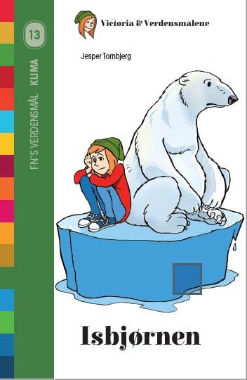 Billede: Forsideillustration til bogen 'Isbjørnen'