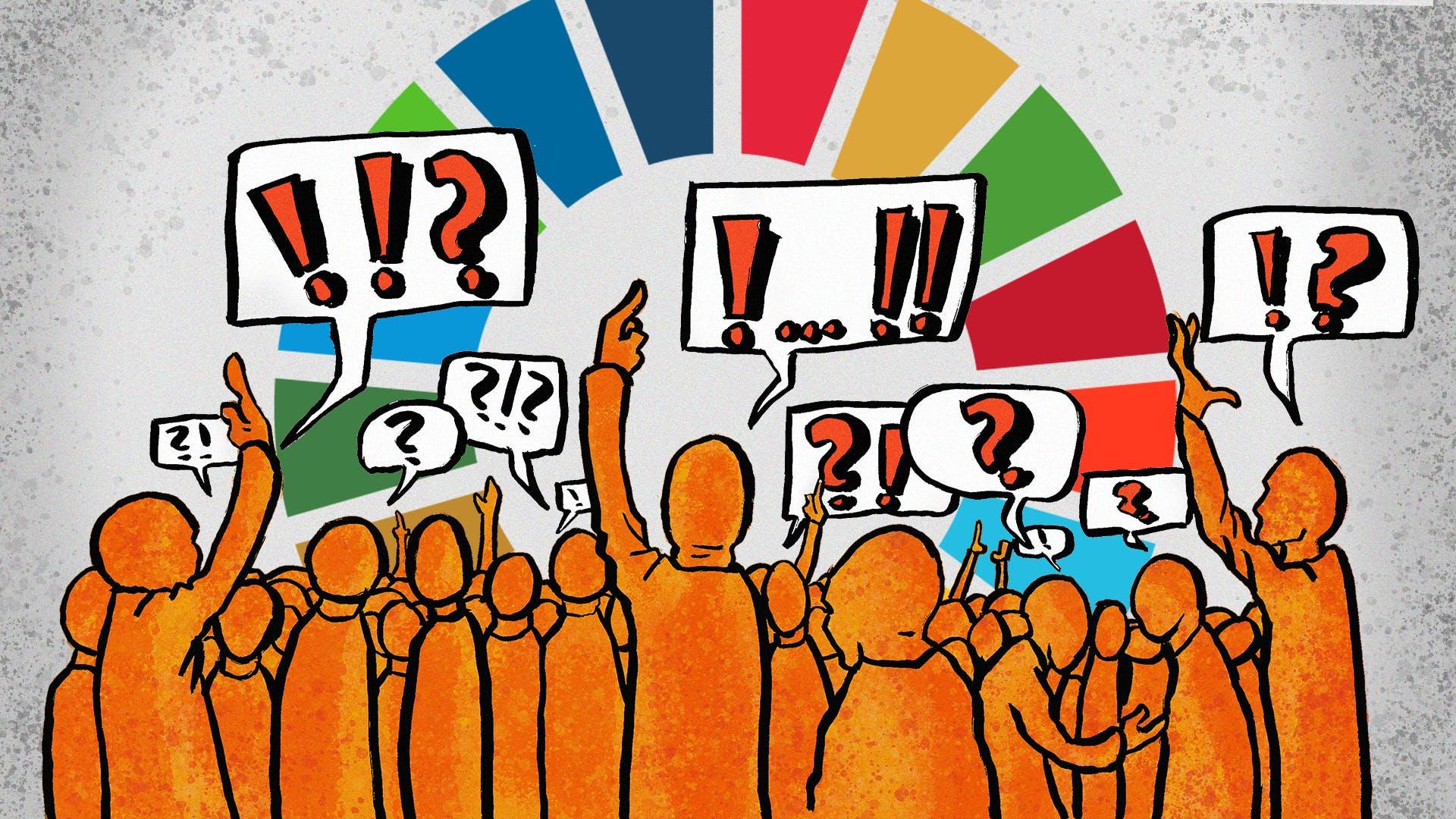 Alle danskere kan komme med inputs til, hvordan vi bedst måler Danmarks indsats for Verdensmålene i fremtiden. Foto: Lauge Eilsøe-Madsen