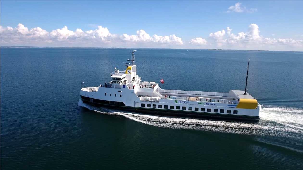 Turen går til Ærø med el-færgen Ellen. Foto: Ærø Energylab