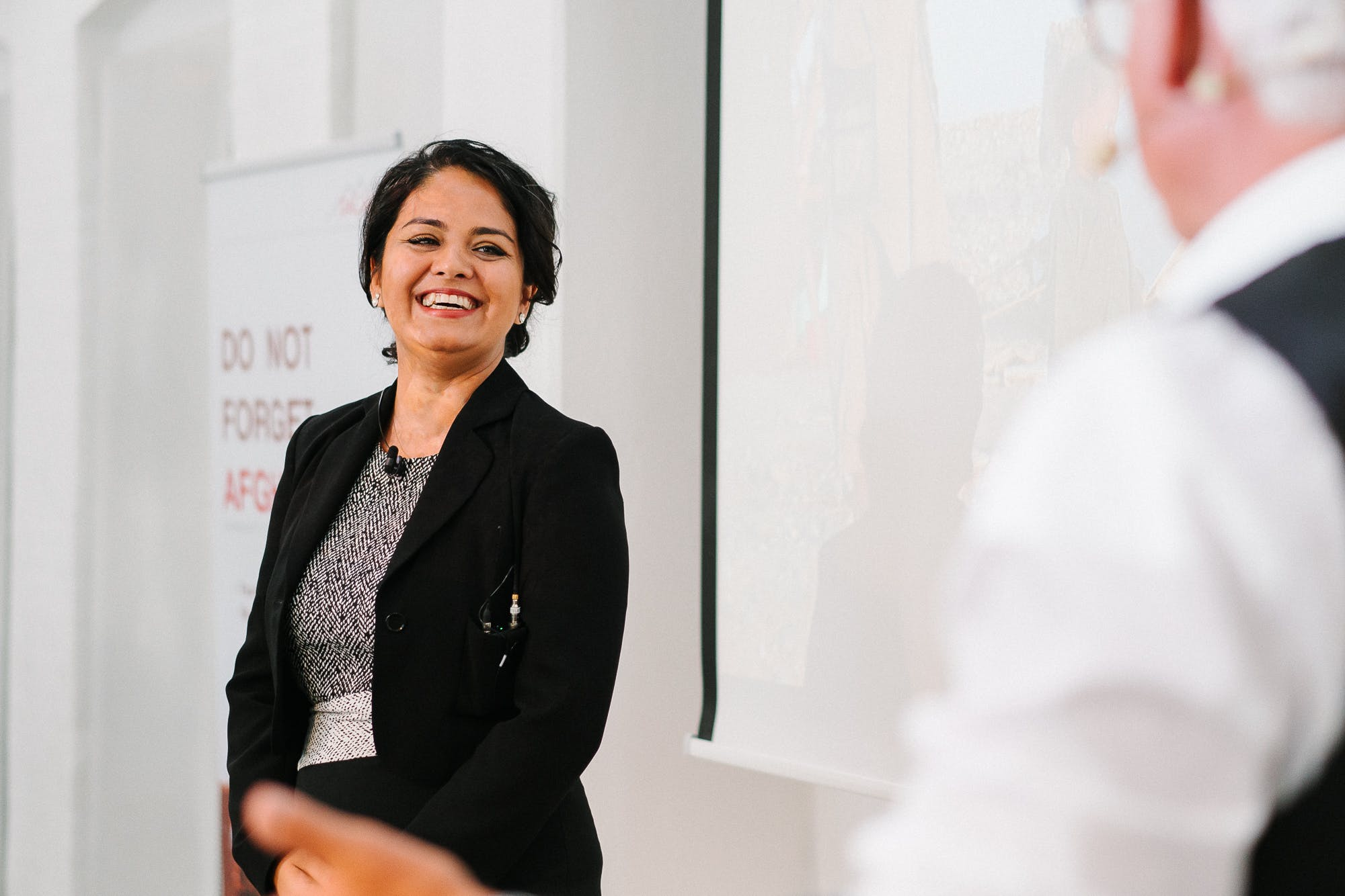 Tahmina Salik er tovholder for DAKDIF, der hjælper DACAAR med at forbedre levevilkår for kvinder i Afghanistan. Foto: Oliver Mirkuves