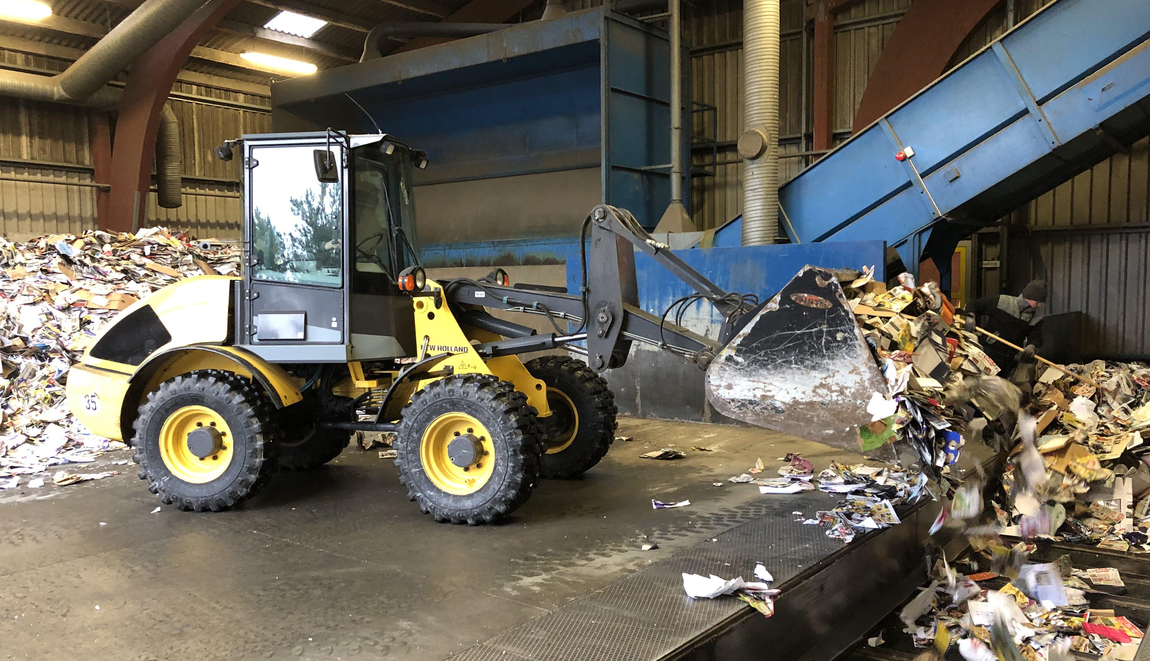 Snart skal affaldssorteringen på Bornholm gå efter genbrug frem for afbrænding. Foto: BOFA