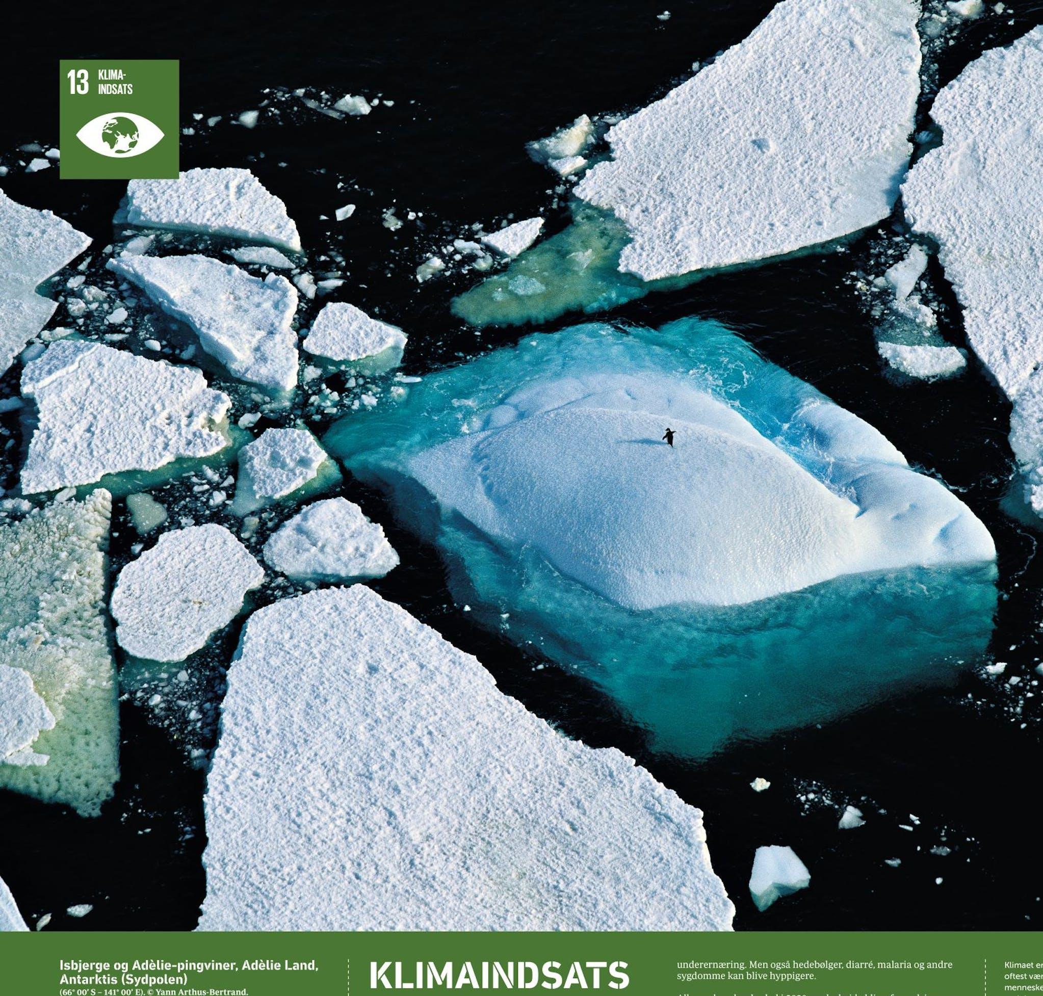Verdensmål 13: Klimaindsats. Foto: Yann Arthus-Bertrand/2030 NOW