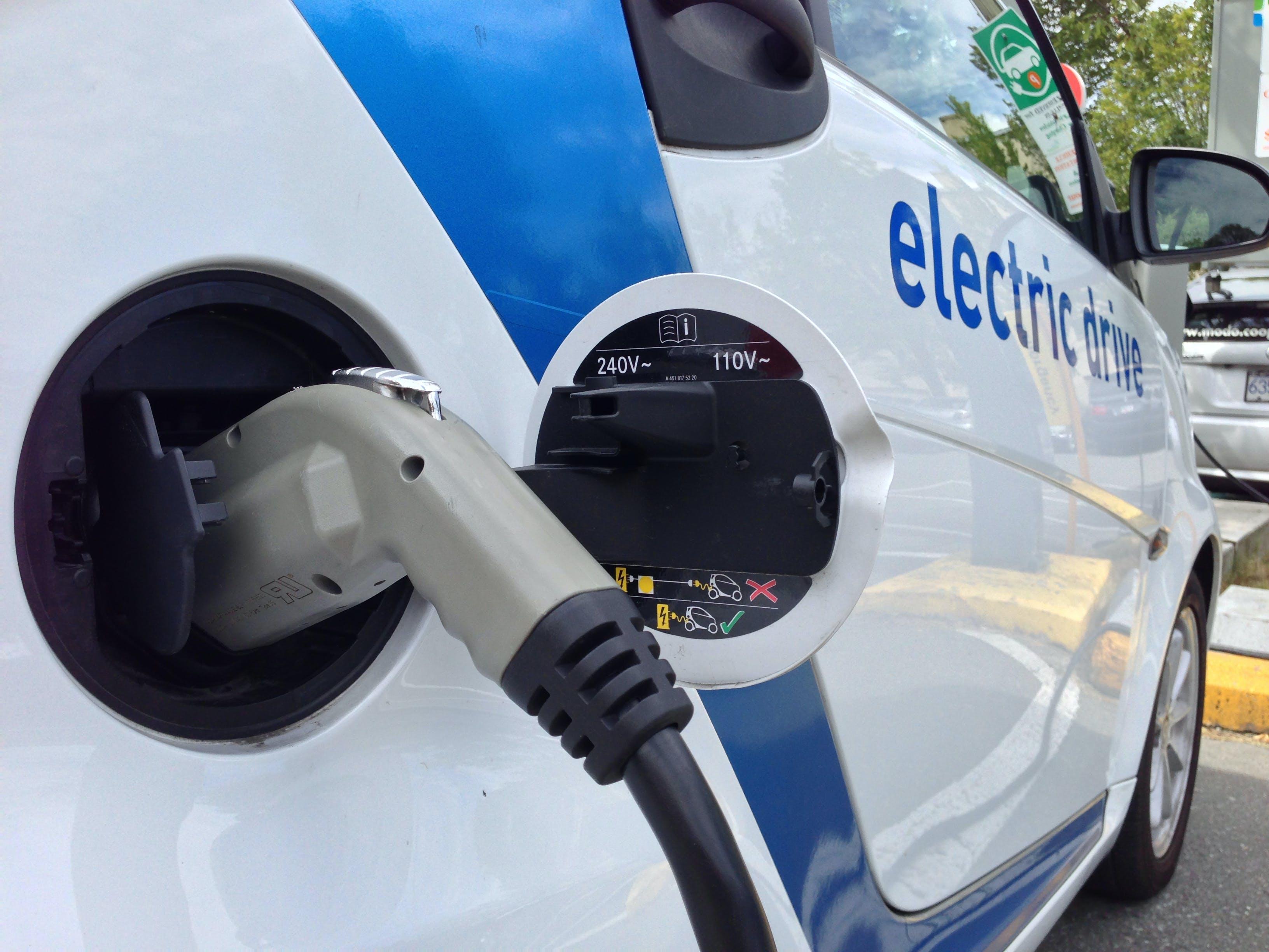 I september blev der slået rekord for salg af elbiler. Foto: CCBY Paul Krueger