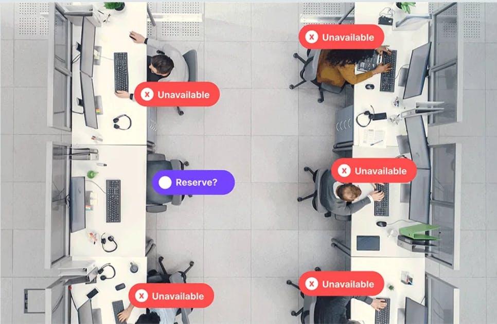 VergeSense Occupancy Sensors in the Workplace