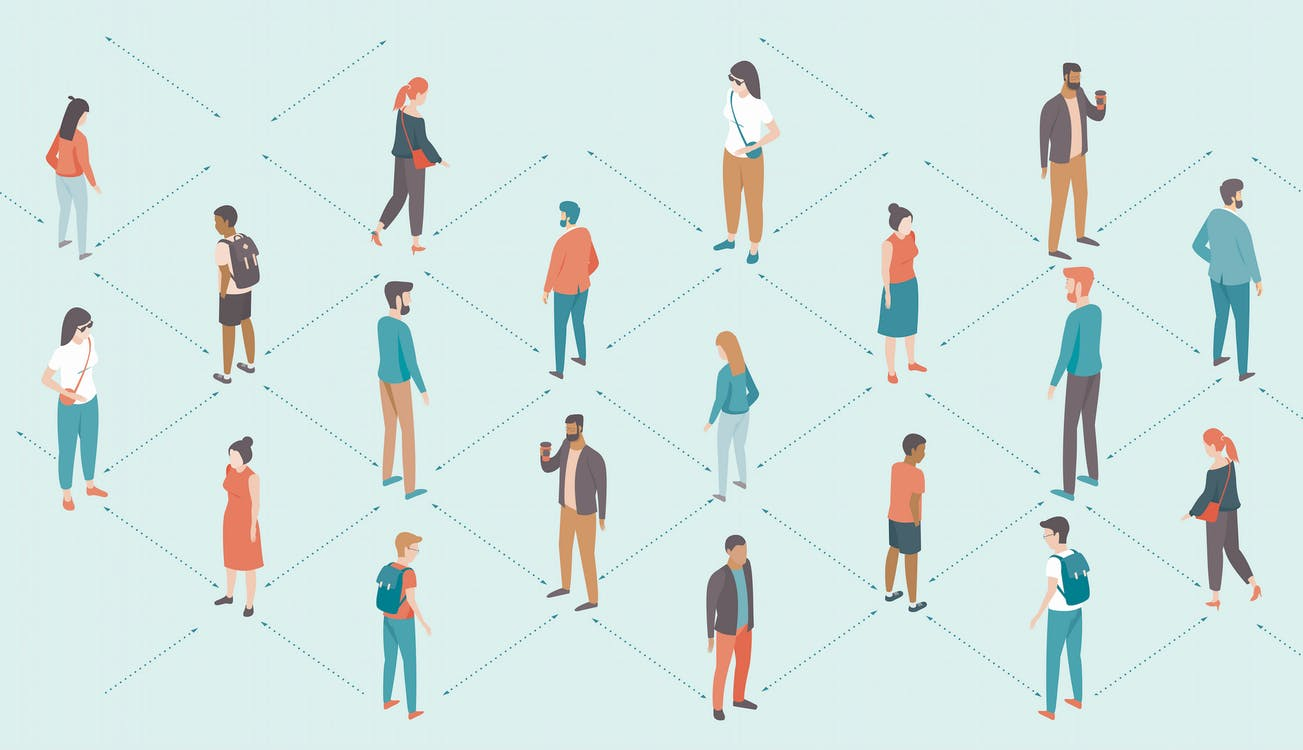 Coronavirus Created Social Distancing In Offices Last Week Before Widespread WFH Mandates