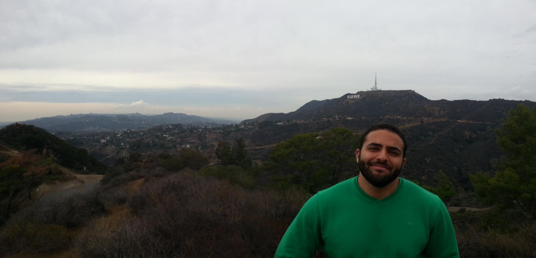 Mostafa during his time in California