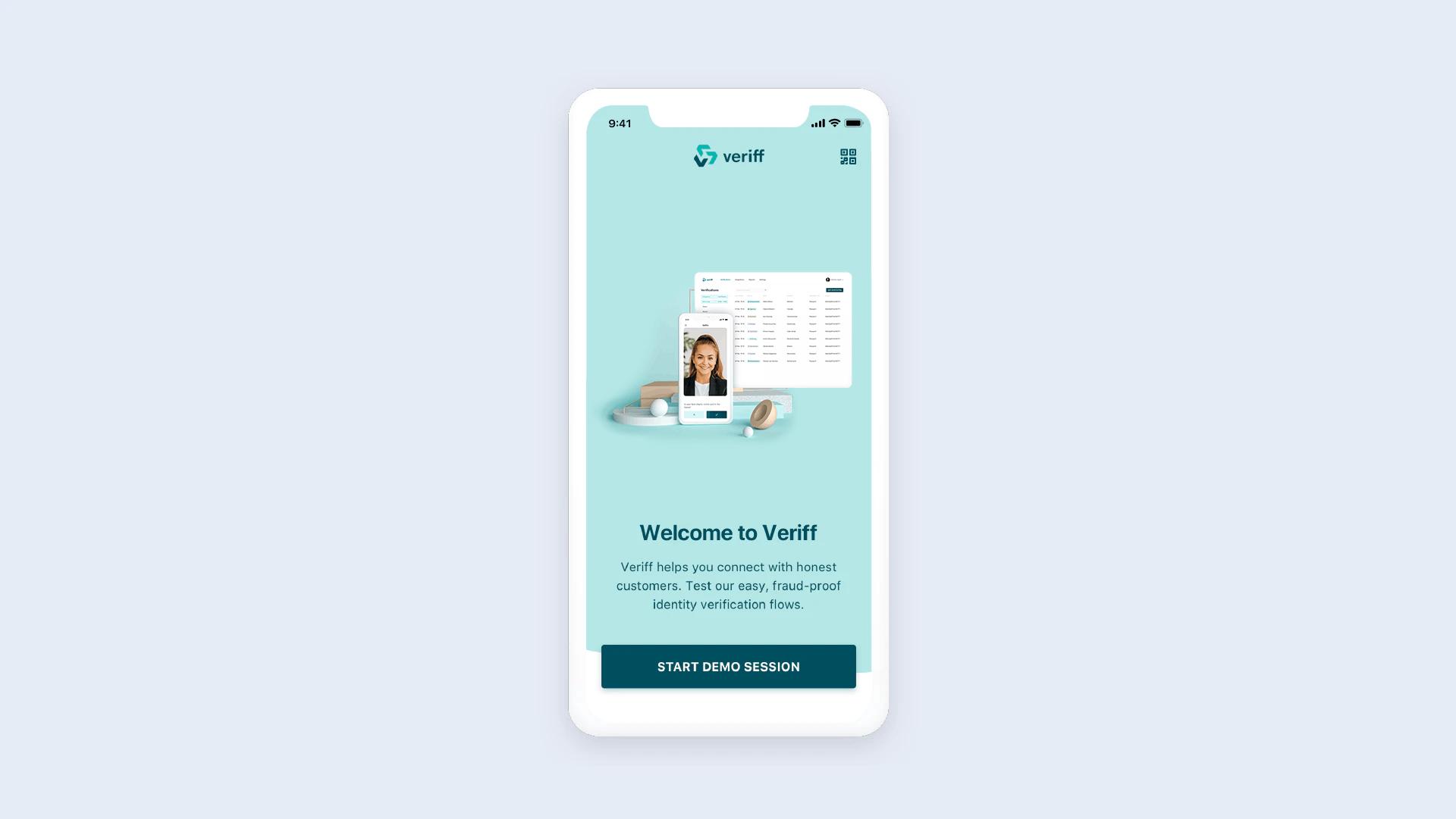 A look at Veriff's iOS demo app.
