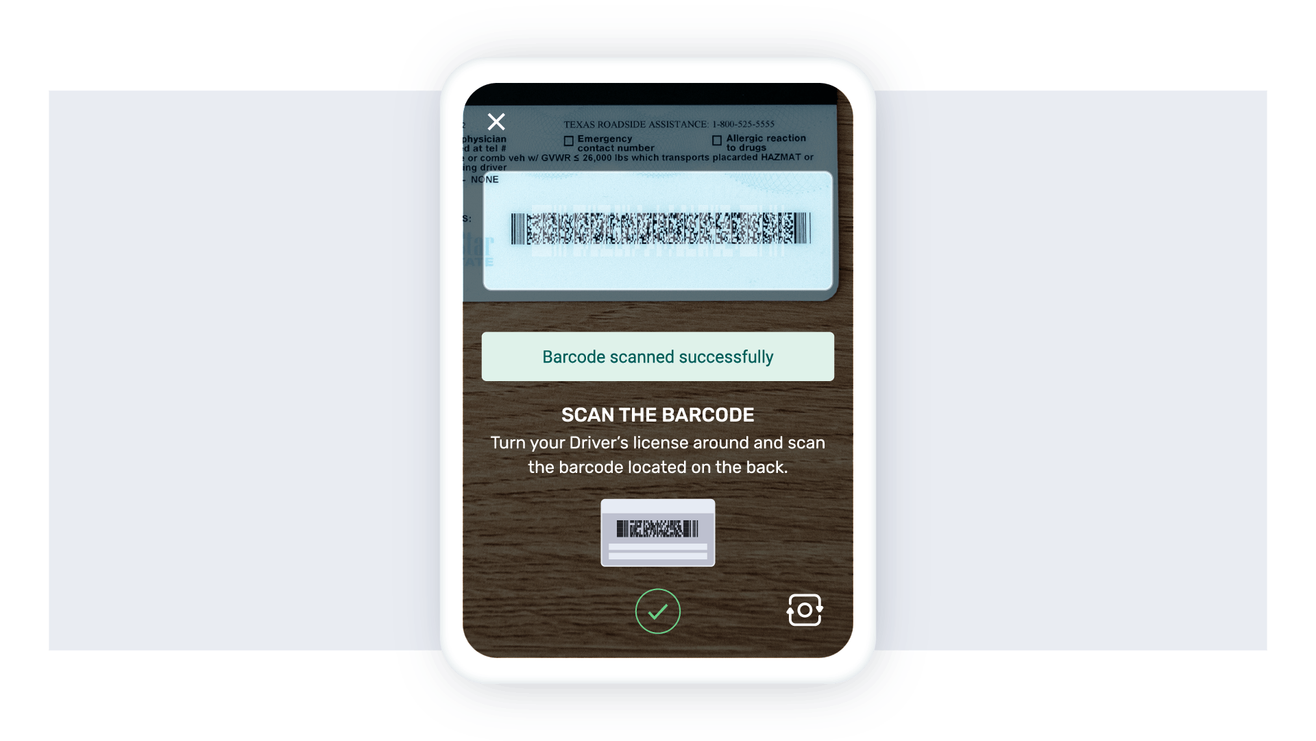Veriff's Barcode Scanning Feature