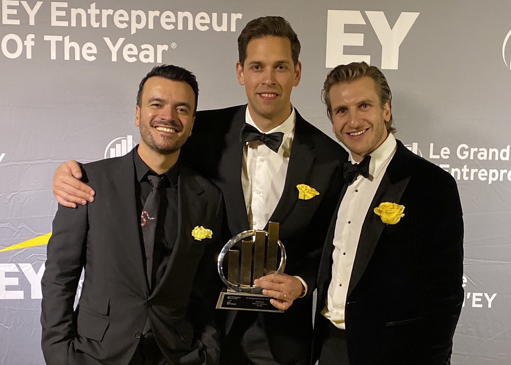 Versett wins the 2019 EY Entrepreneur of the Year Award in Technology