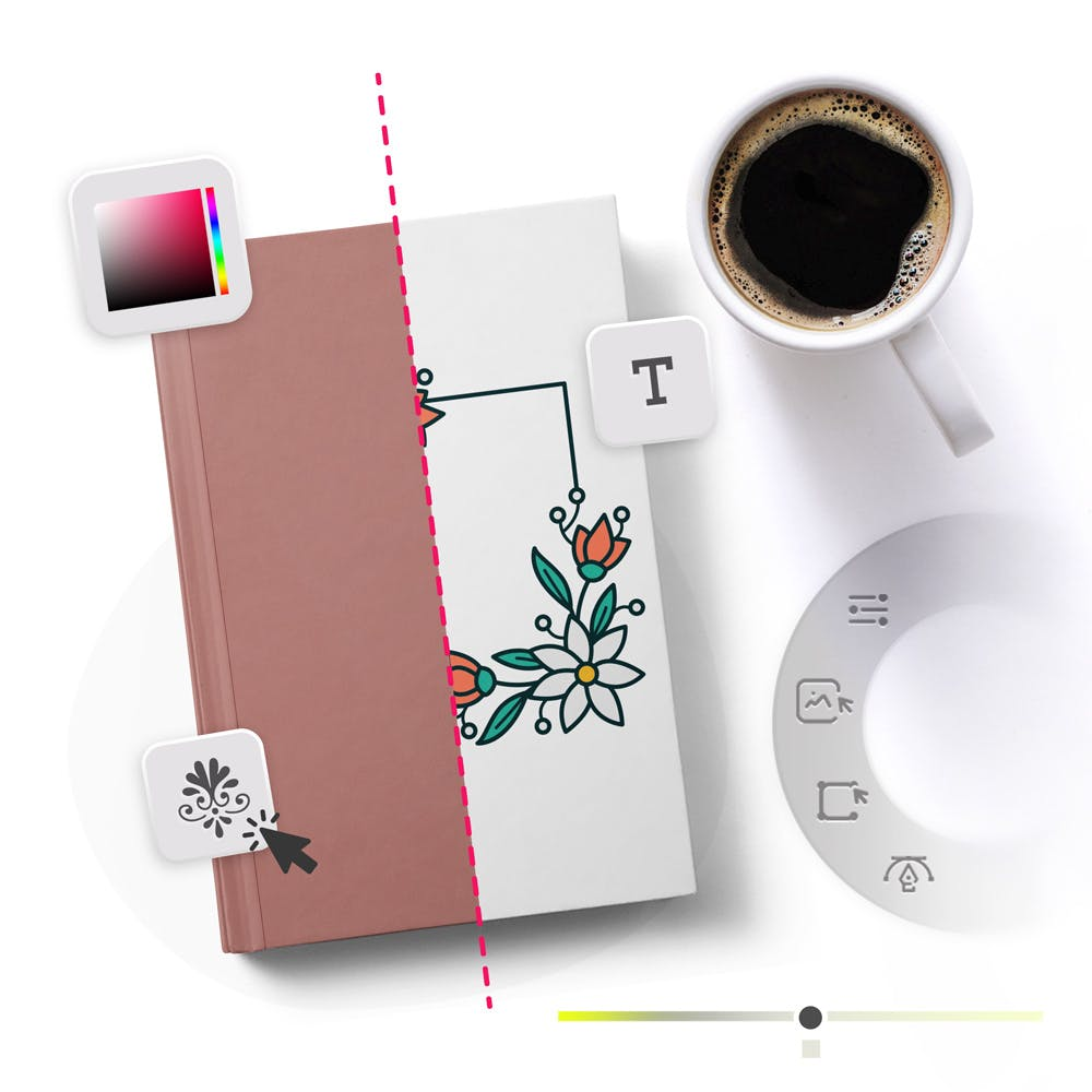 Book Cover Maker process
