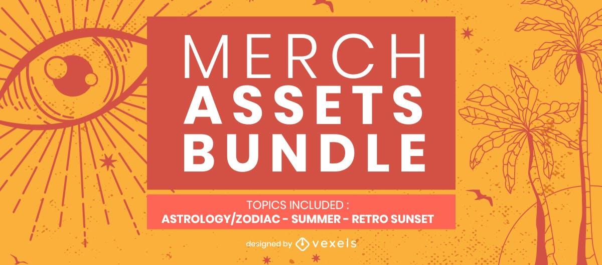 Merch assets bundle