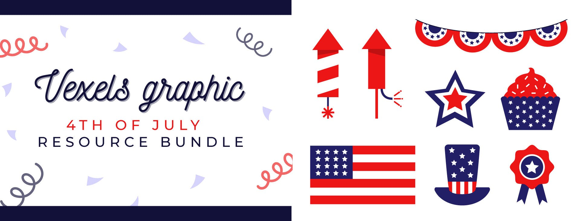 4th of July Graphic Bundle
