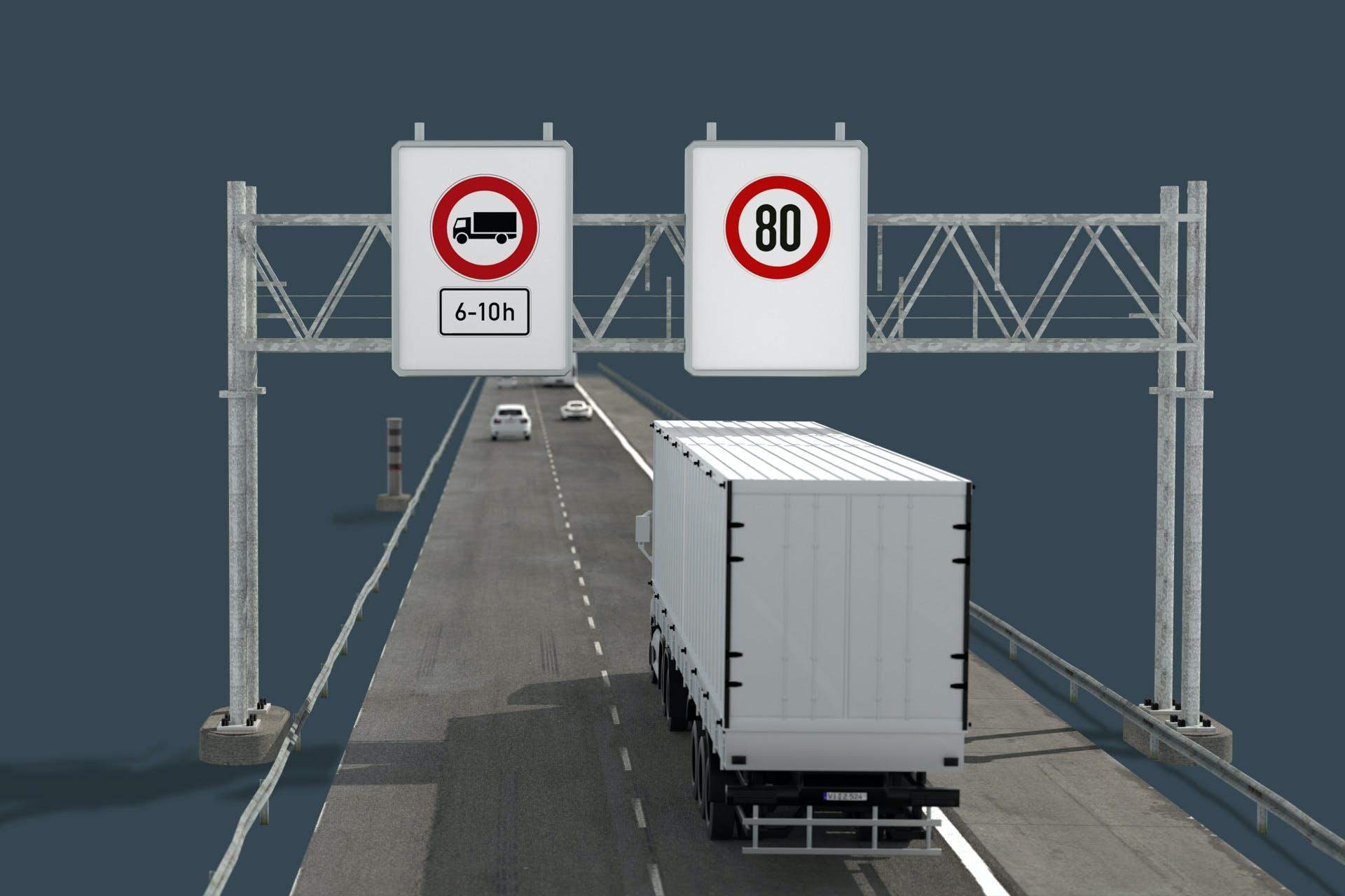 Überwachung von Durchfahrtsverboten