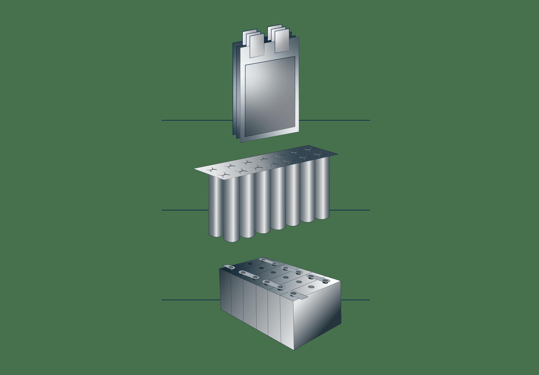 VITRONIC: Die automatische Inline-Prüfung prüft alle Komponenten und die Montage von Modulen + Packs