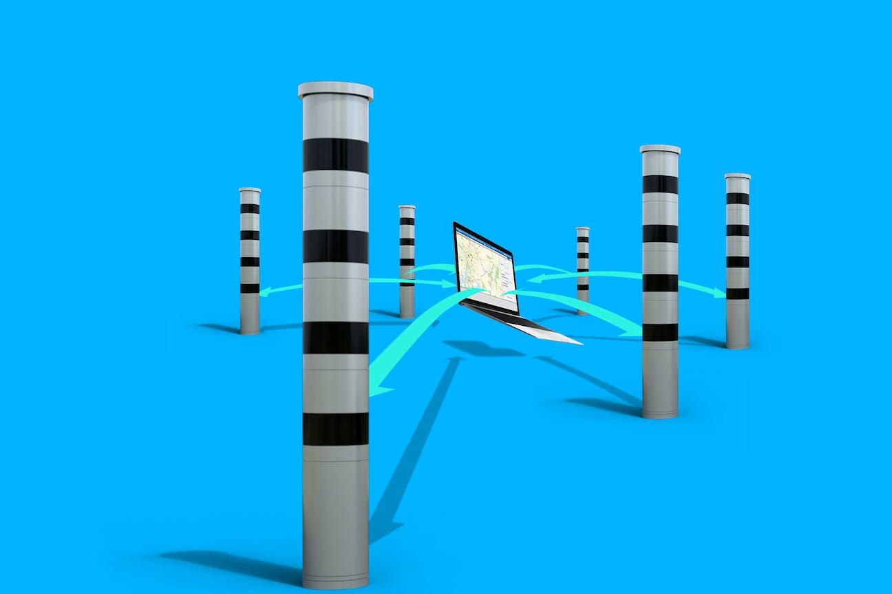 Systemüberwachung von Verkehrstechnik von VITRONIC