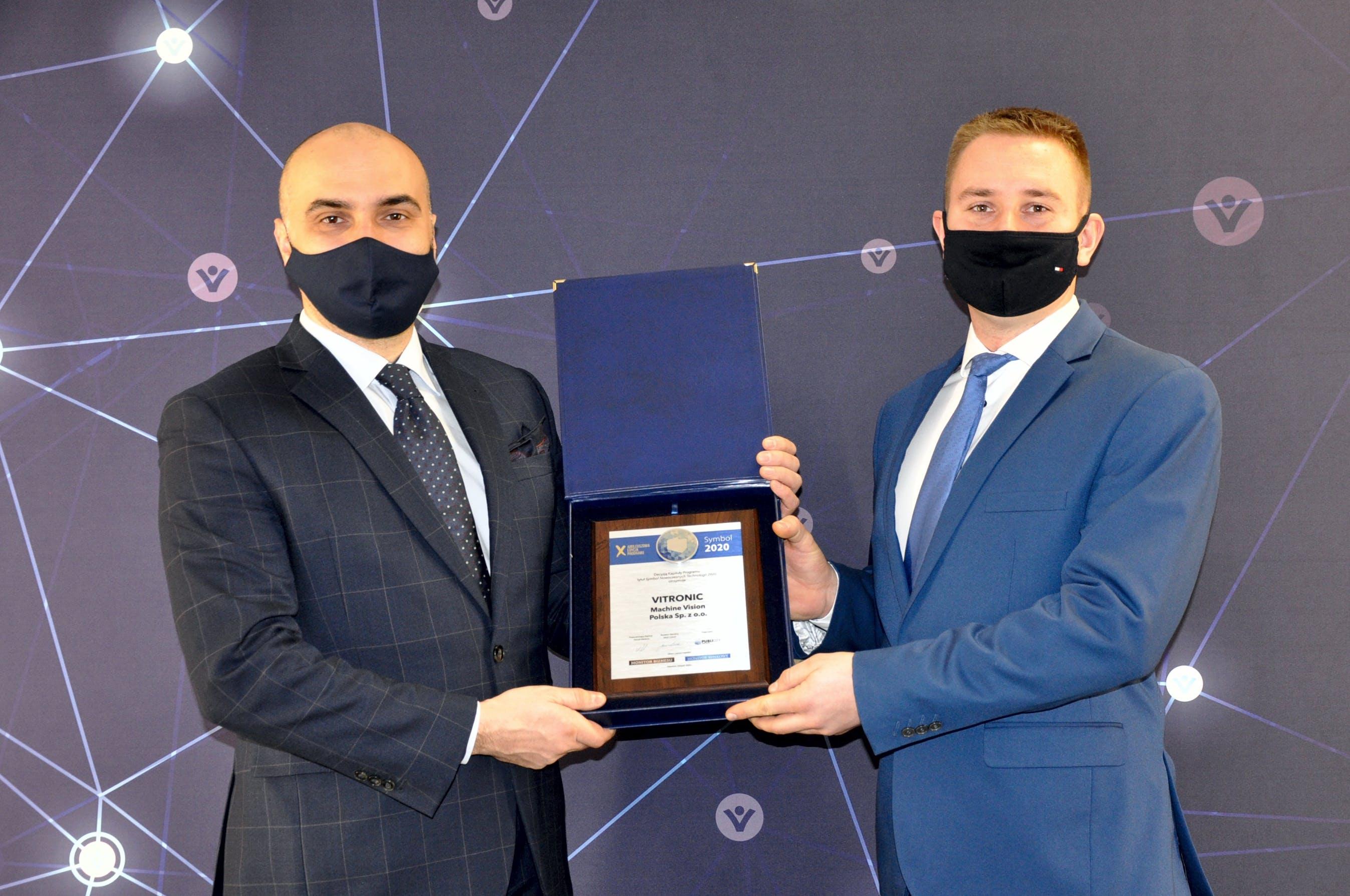 VITRONIC Machine Vision Polska recognized for excellence earning prestigious Symbol award