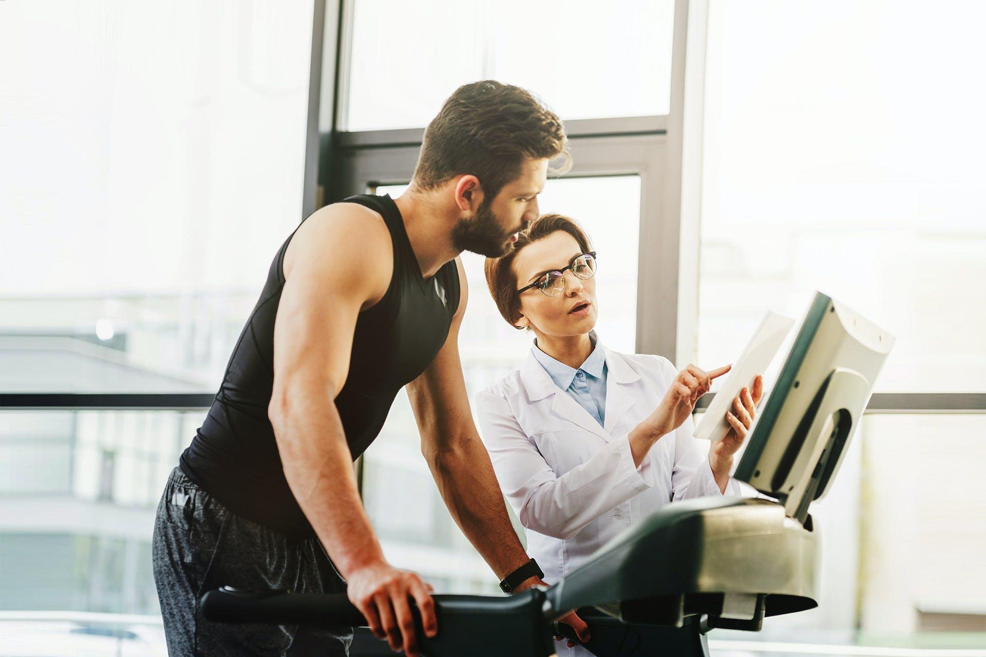 Bodyscanner revolutionieren die Leistungsdiagnostik.