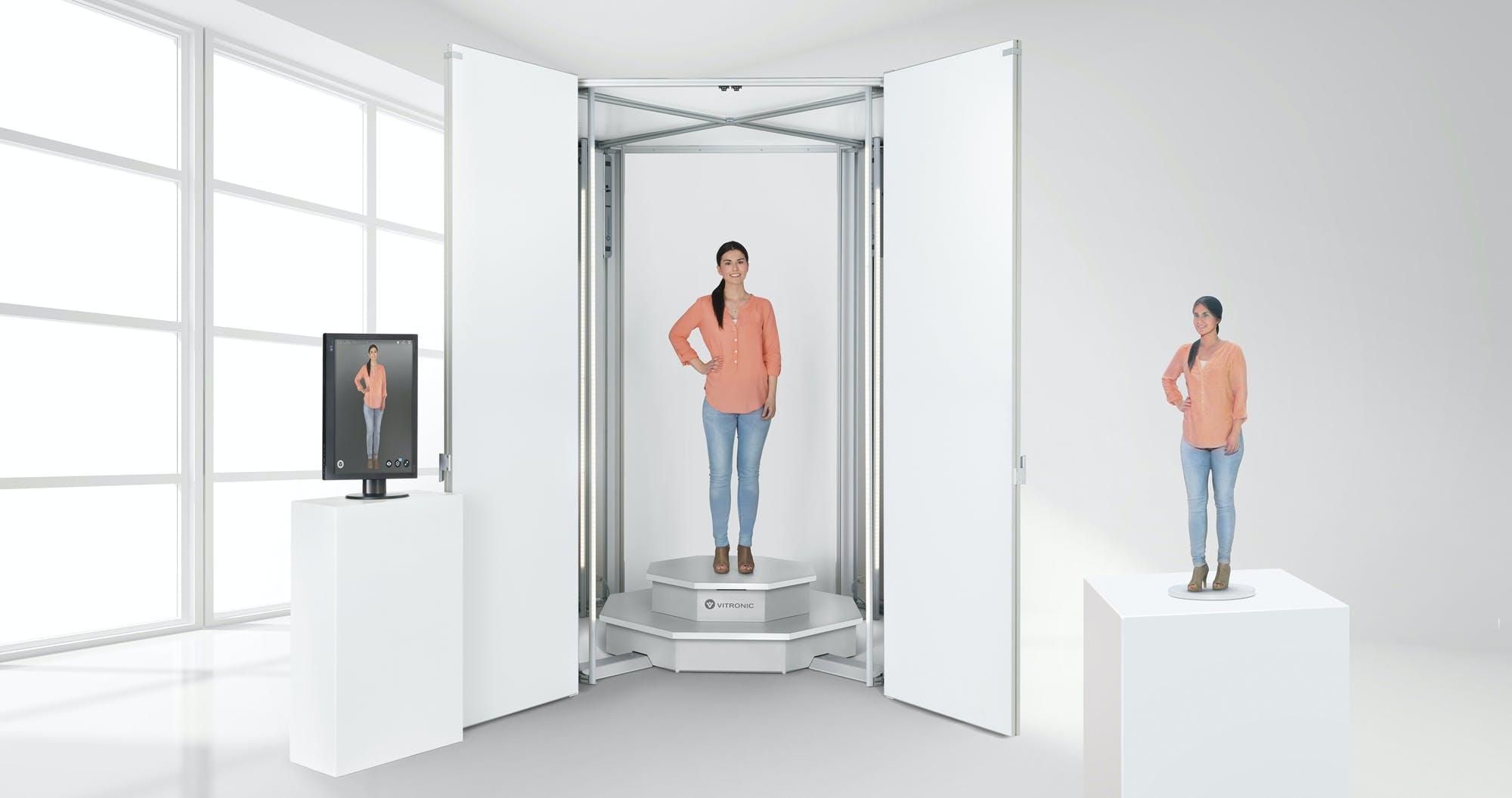 VITRONIC 3D Bodyscan