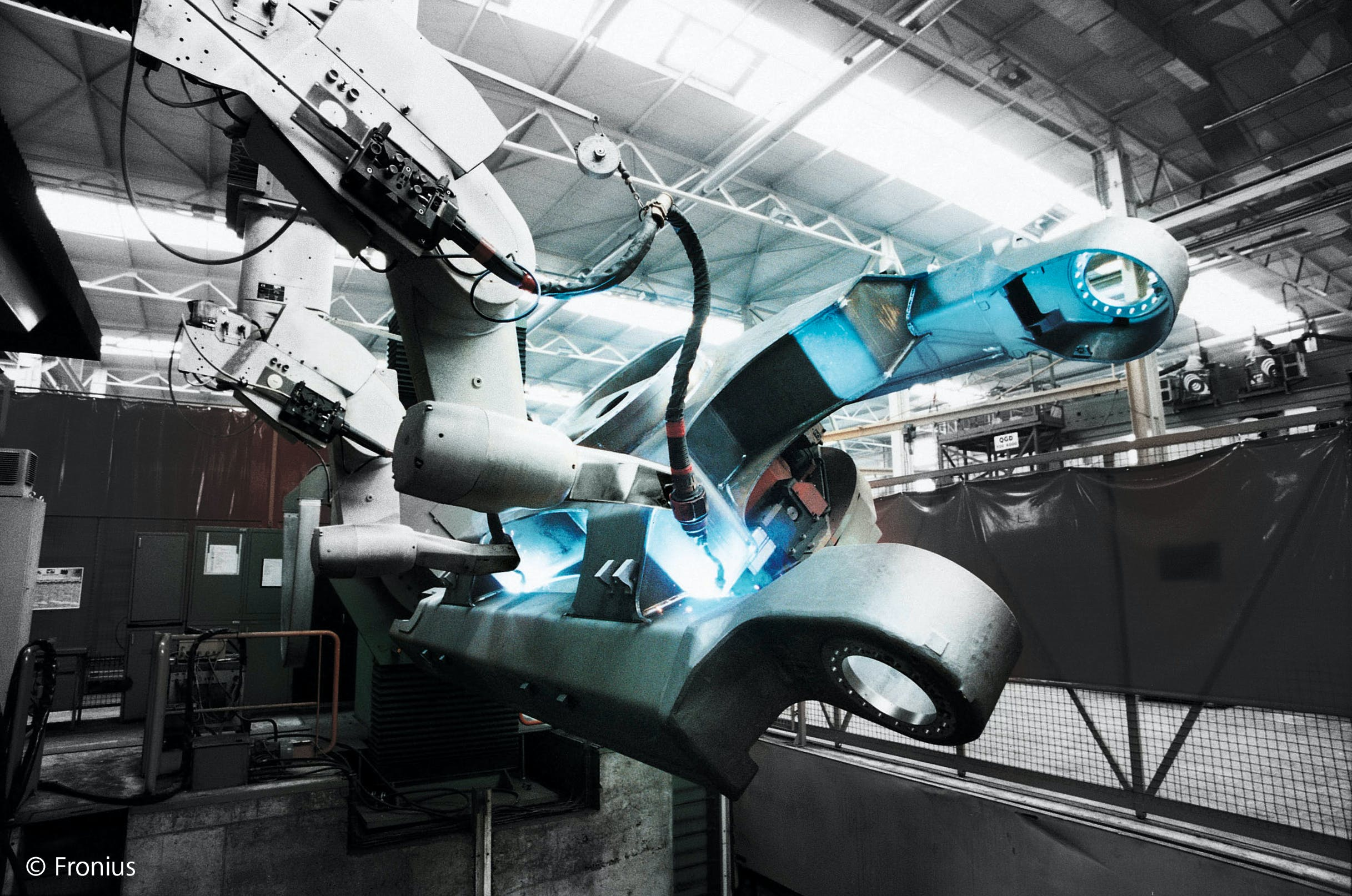 Automatisiertes Schweißen in der Automobilindustrie
