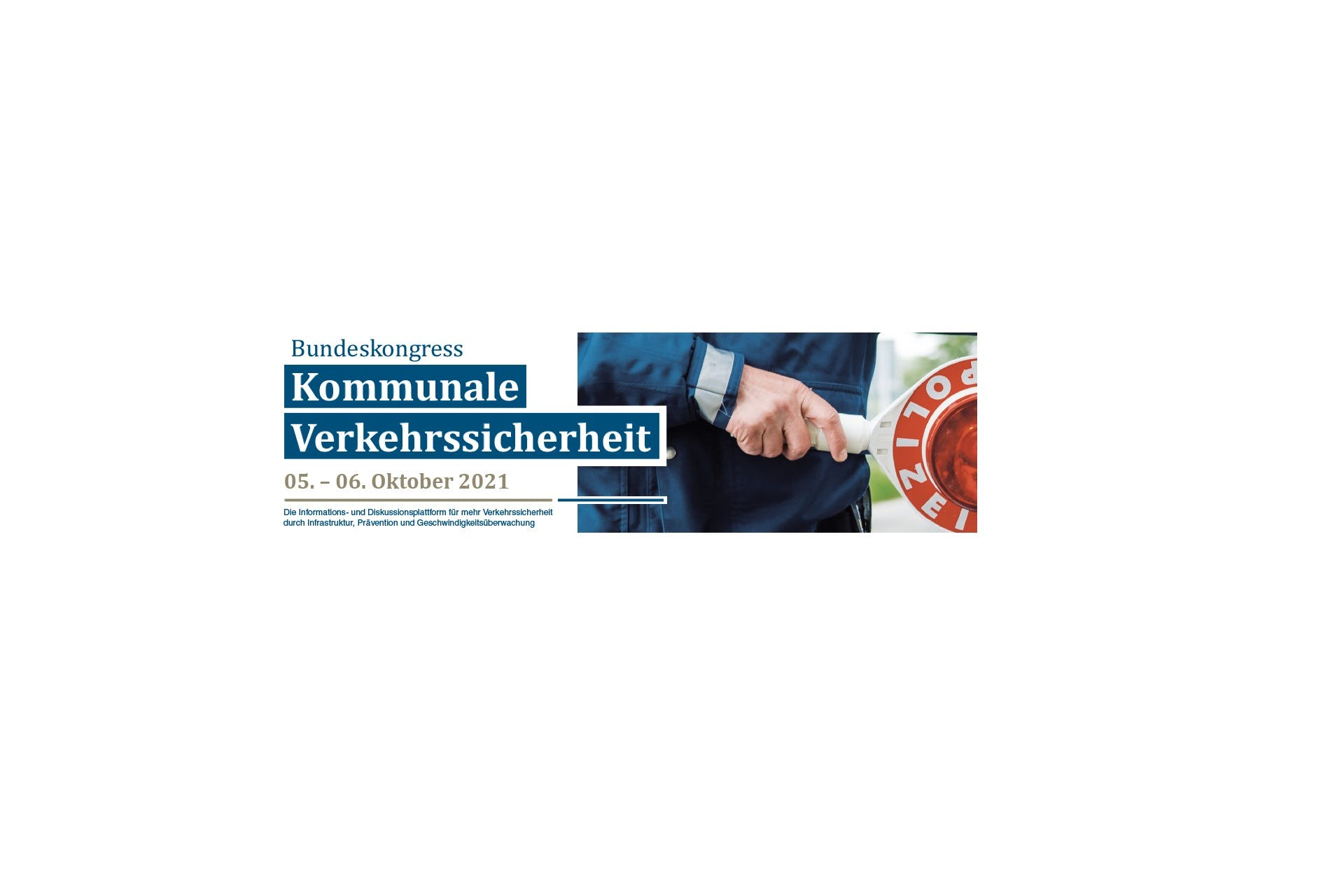 Logo Bundeskongress Kommunale Verkehrssicherheit