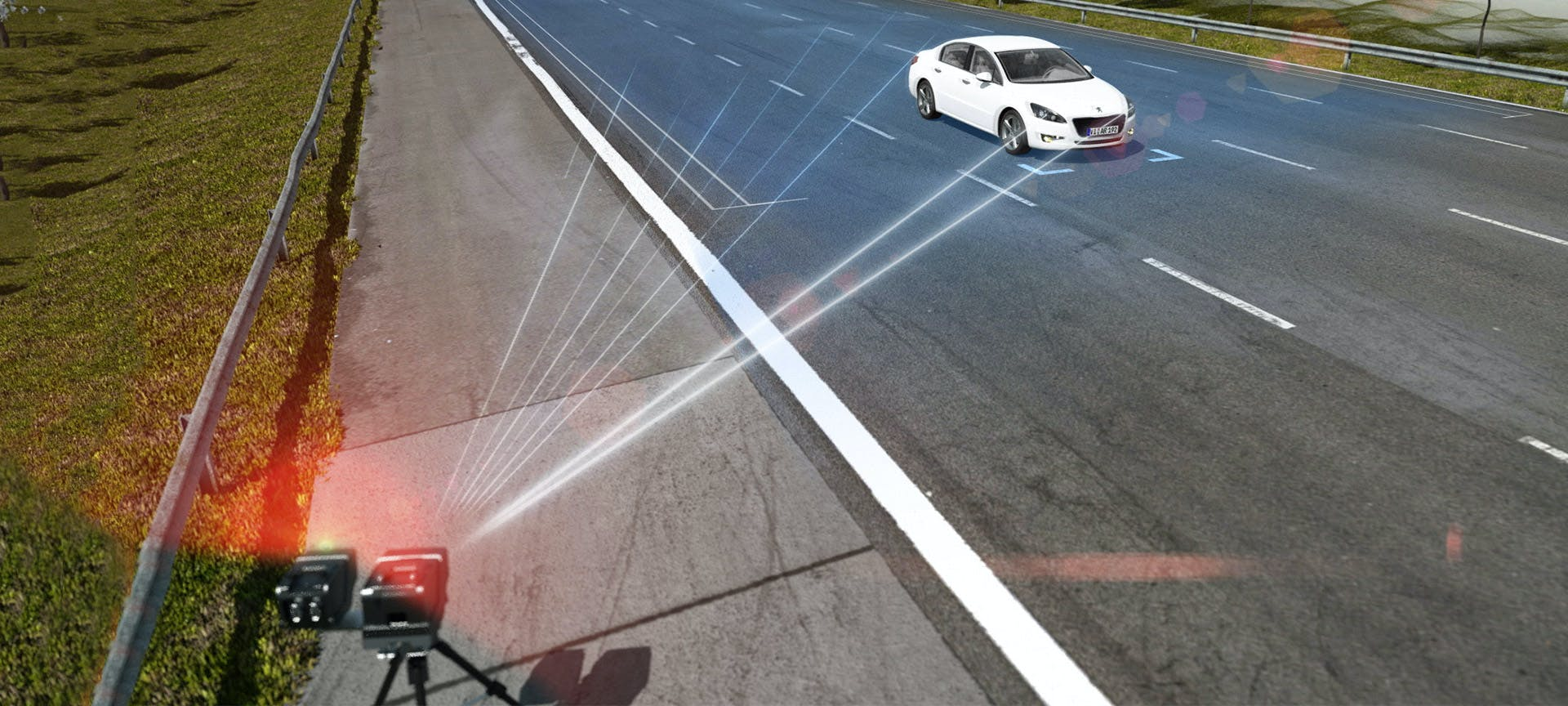 Precise speed enforcement with LIDAR measuring technology