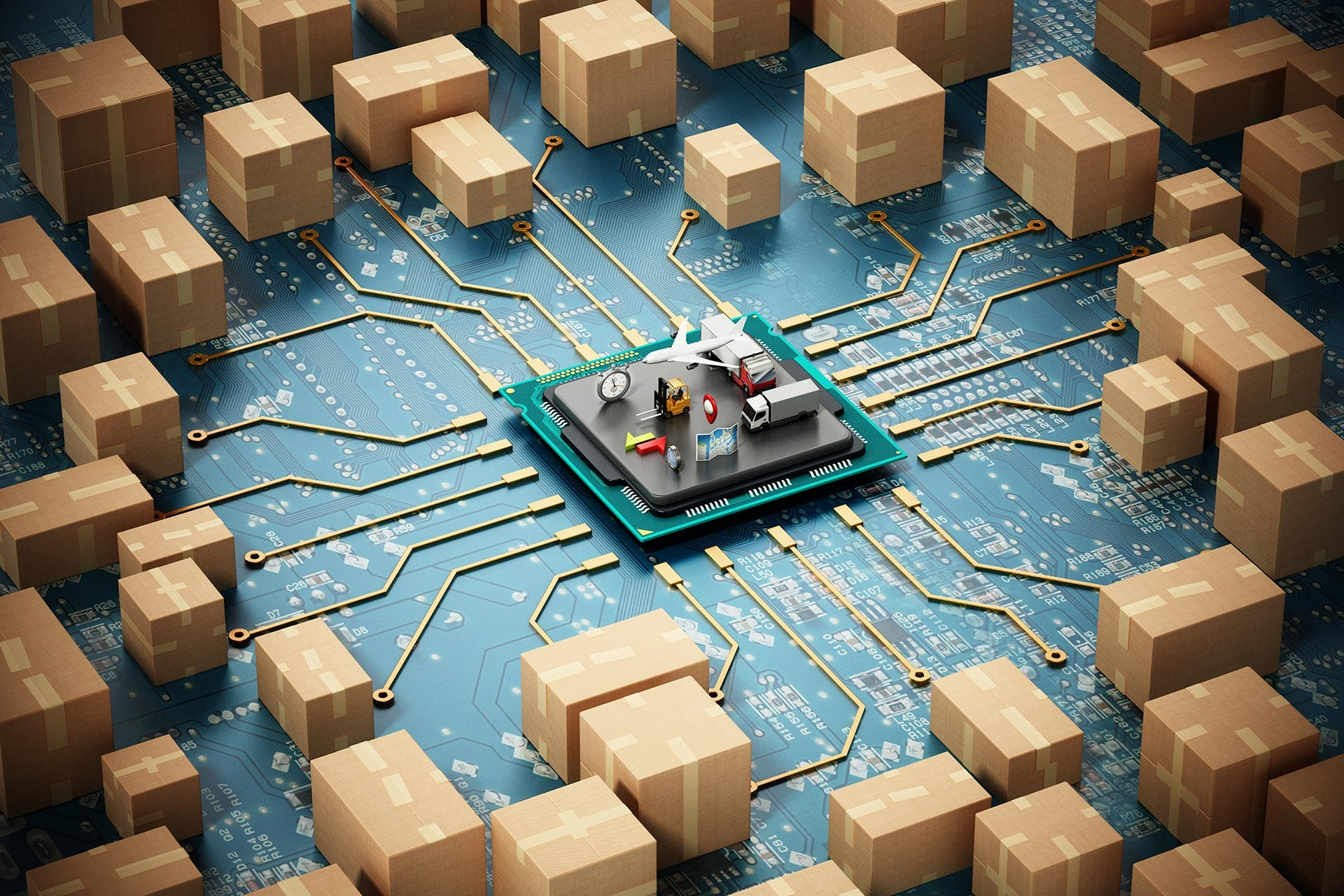 VITRONIC Visionary Smart Logistics