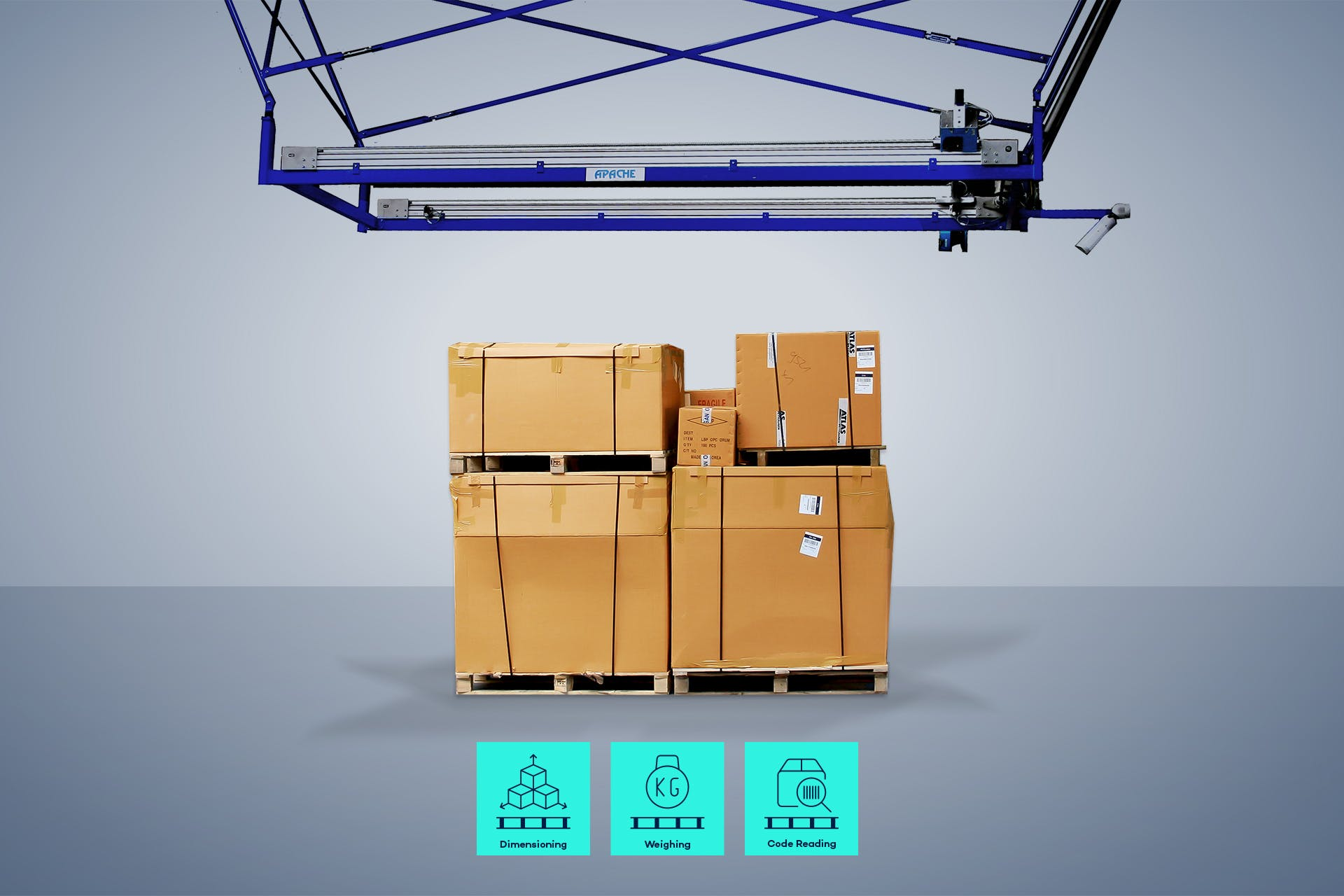 Automated air freight handling results in faster processes